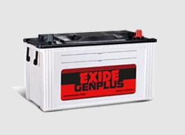 Exide Gen Plus best battery for Generator applications