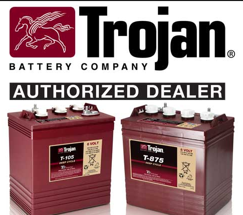 Floor Cleaning Machine battery trojan make